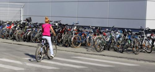 targ de biciclete