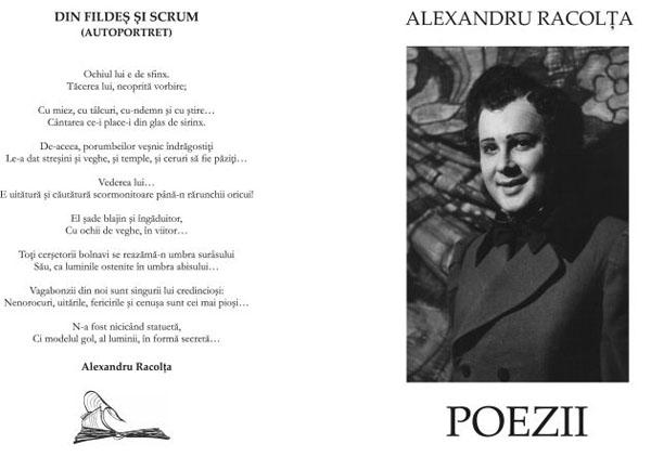 coperta poezii alexandru racolta