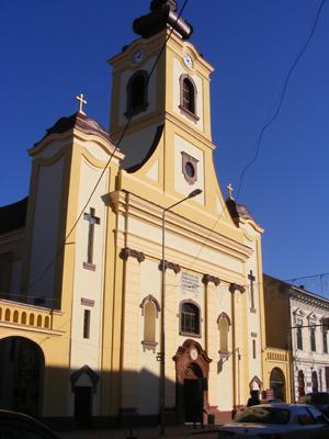 biserica romano catolica lugoj
