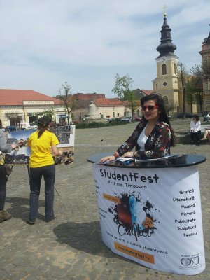 incepe student fest la Timisoara