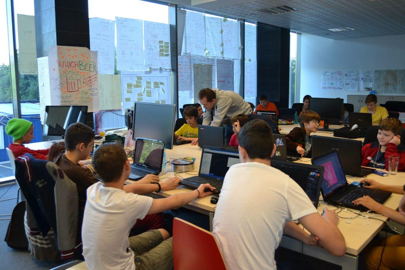 CoderDojo Timisoara saturday coding session