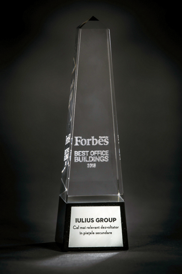 Trofeu Iulius Group - Forbes Best Office Buildings 2016