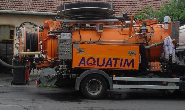 aquatim -pompa masina apa