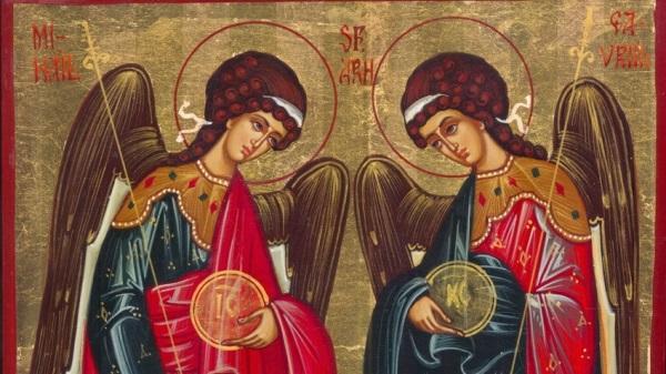 Sfintii Arhangheli Mihail si Gavriil n