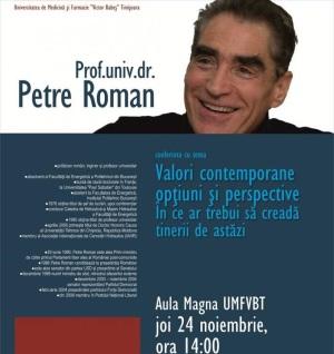 UMF prof.univ.dr. Petre Roman