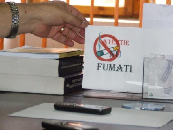 fumatul interziss