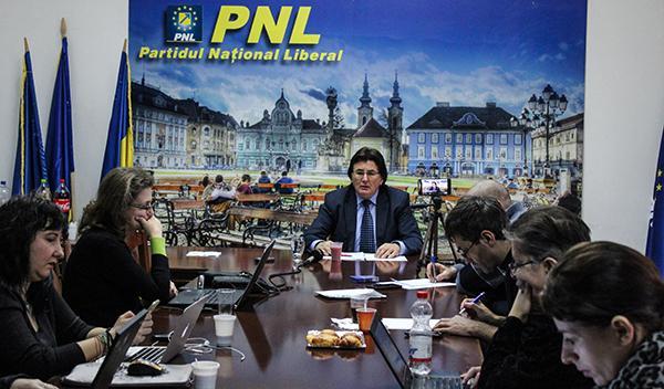 Nicolae Robu presedinte interimar PNL Timis 03
