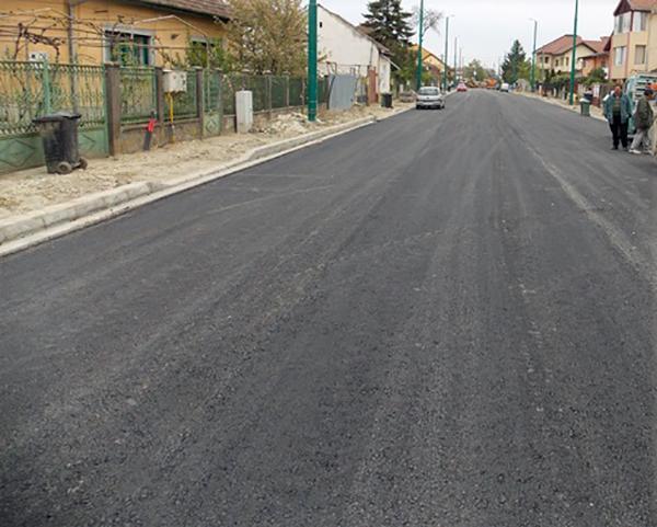 asfalt Calea Martirilor