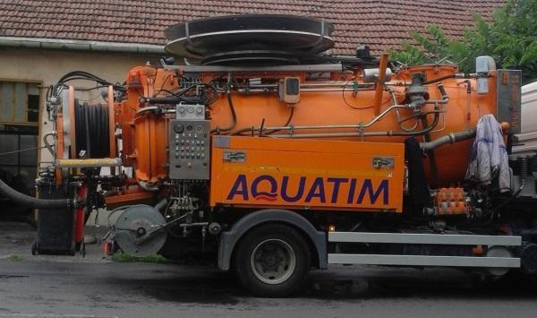 aquatim pompa masina apa