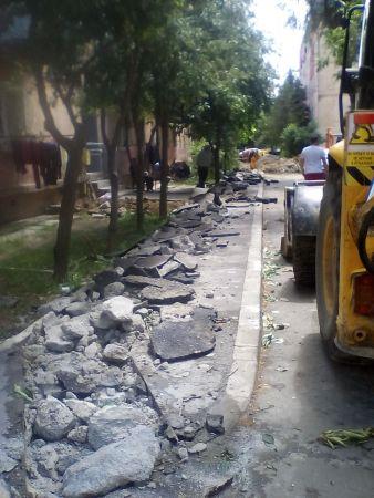 trotuar spart