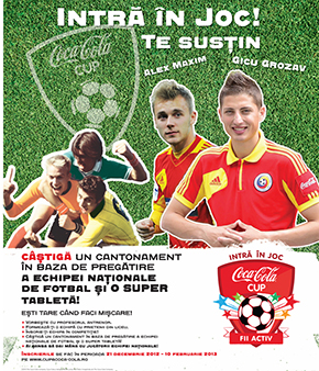 Afis Cupa Coca-Cola w