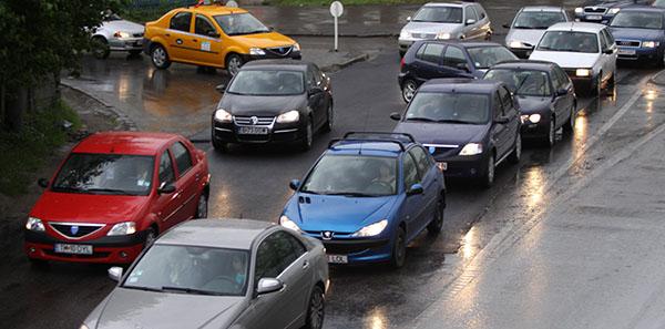 pasaj jiul trafic masini aglomeratie 2