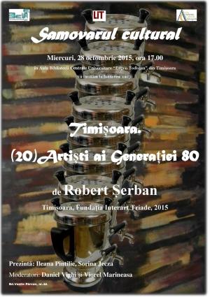Afis lansare Timisoara 20 Artisti