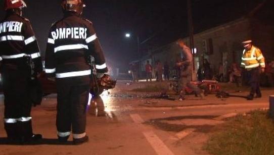 accident motociclist cenad