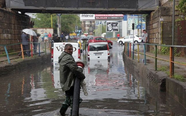 pasaj inundat
