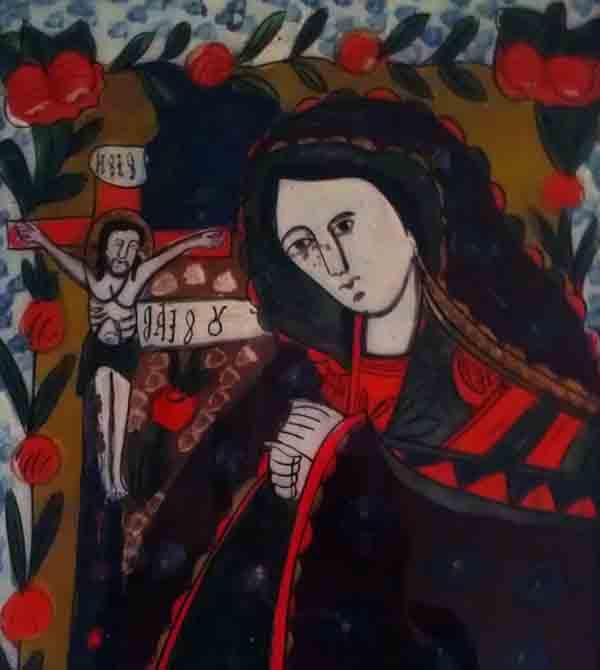 12.04.2017 Icoana Maica Domnului jalnica Scoala de la Nicula